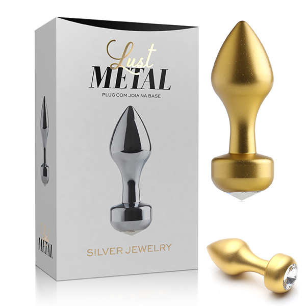 Plug Anal Lust Metal Gold Jewelry - LM015